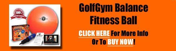 GolfGym Balance Ball,Golf Gym,Balance Ball,Fitness Ball,Balance Fitness Ball