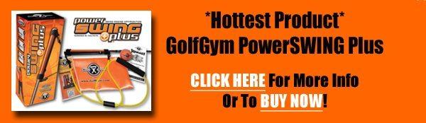 GolfGym PowerSWING Plus,PowerSWING Plus,Power Swing Plus,Golf Gym,PowerSwing