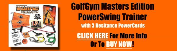GolfGym PowerSwing Trainer, Masters Edition,GolfGym,PowerSwing,Power Swing,Golf Gym
