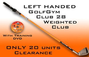 Left Handed Golf Club,GolfGym Weighted Club,GolfGym
