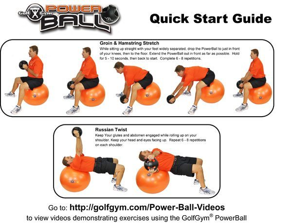 PowerBall Start Guide Page 1sm