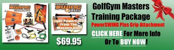 Golf Gift Center,GolfGym PowerSwing Trainer,Masters Training,Masters,GolfGym