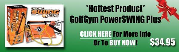 Golf Gift Center,GolfGym PowerSWING Plus,PowerSWING Plus,PowerSwing,Power Swing,GolfGym