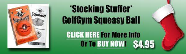 Golf Gift Center,GolfGym Squeasy Ball,Squeasy,GolfGym Squeasy Ball