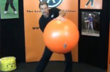 Balance Ball,Golf Exercises,GolfGym
