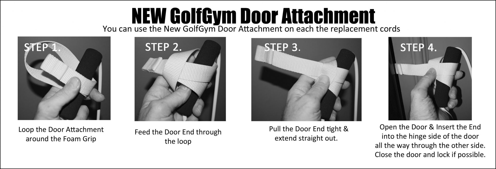GolfGym,Loop Door Attachment,Door Attachment