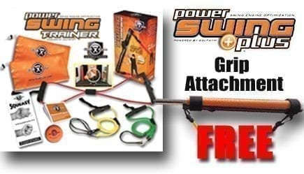 GolfGym PowerSwing Trainer,Masters,Free PowerSWING Plus