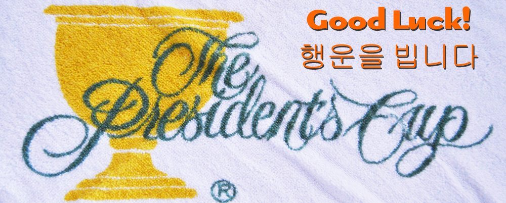 The Presidents Cup,Golf,Korea,Golfing,GolfGym