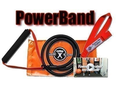 GolfGym PowerBand,PowerBand,PowerBand Trainer,Golf,Golf Fitness Made Simple