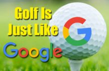 Golf,Google,Golf Is Just Like Google