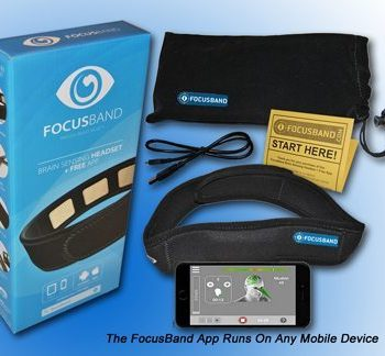 FocusBand,Focus Band,Neurofeedback,Brain Sensor,Brain Sensor Headband,