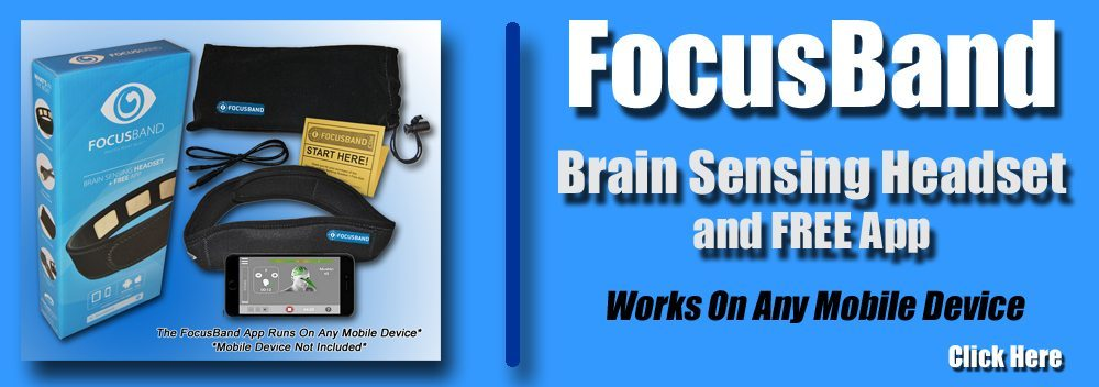 FocusBand,Focus,Brain Sensing Headband,FocusBand App