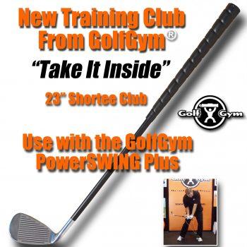 """GolfGym Training Club,23"""" Shortee Club,GolfGym Club"""
