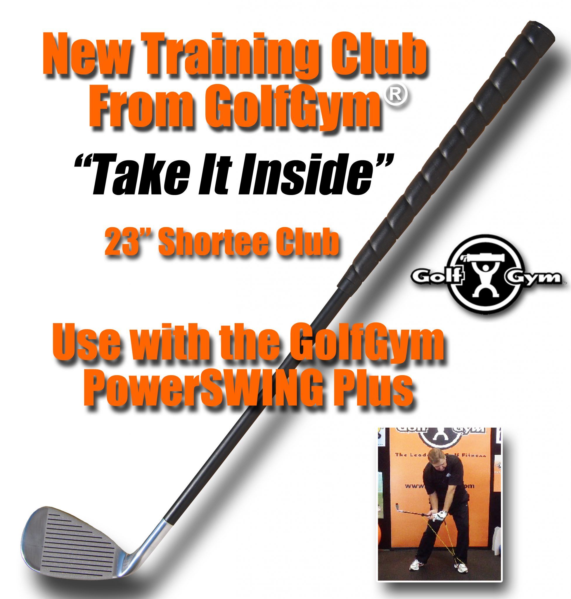 "GolfGym Training Club,23"" Shortee Club,GolfGym Club"