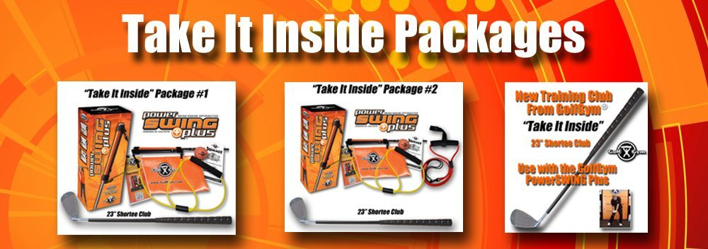 Take It Inside Packages,Take It Inside,Shortee Club,GolfGym Shortee Club