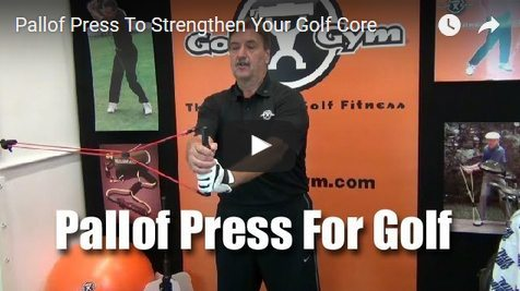 Paloff Press,Anti-Rotational Drill,Anti-Rotation,GolfGym,PowerHip Trainer