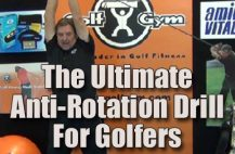 Ultimate Anti-Rotation Drill,GolfGym Power Hip Trainer