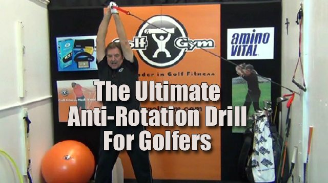 Ultimate Anti-Rotaion Drill,Anti-Rotation,Paloff Press,PowerHip Trainer