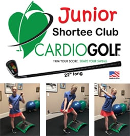 Junior Shortee Club,Junior Golf,Shortee Club for Juniors,Junior Cardiogolf