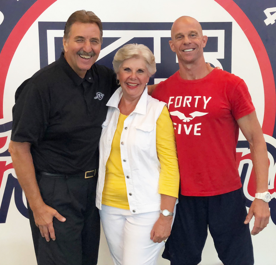 Ken Pierce,Vicki Pierce,Jeffrey Fronk,F45 Training,Golfers,Golf,GolfGym